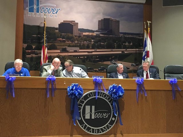 Hoover City Council summer 2016
