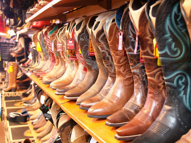 Boots at Stampede Western Wear