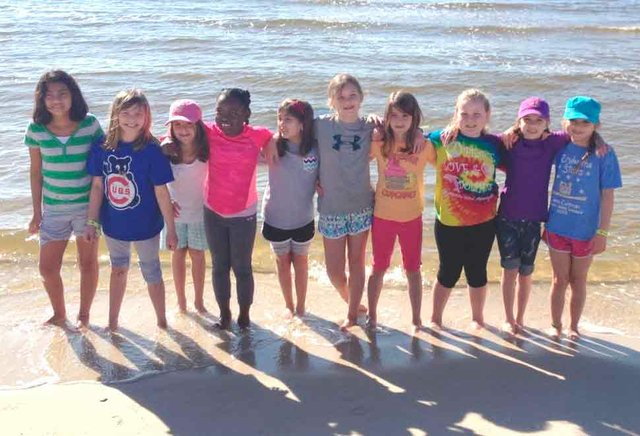 Hoover Valley Girl Scouts Visit Dauphin Island