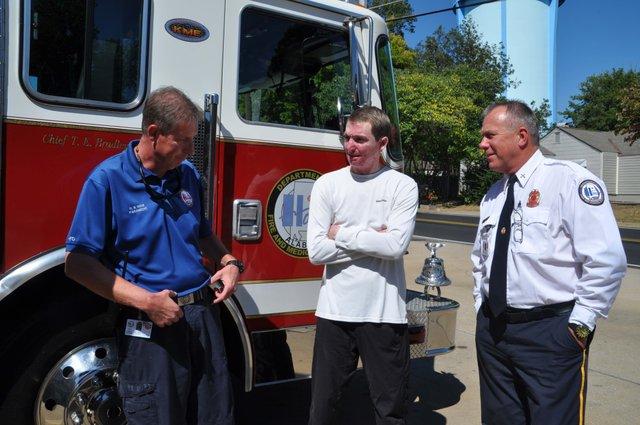 Christian Cooper Bluff Park fire station 13