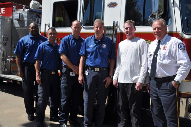 Christian Cooper Bluff Park fire station 12