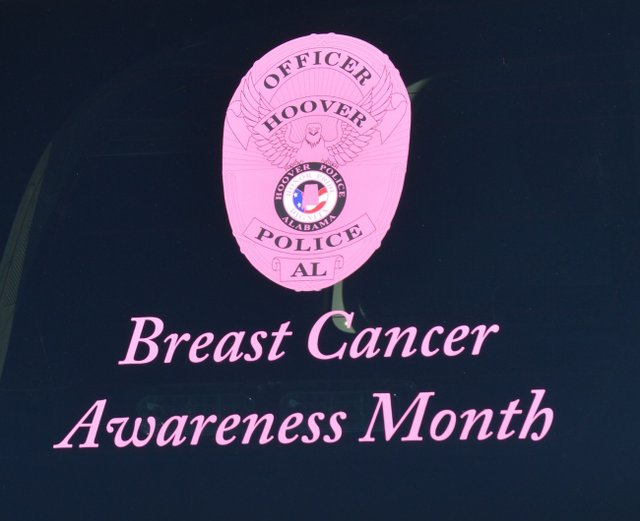 Super Hoover PD debuts pink badges for breast cancer awareness  EP46